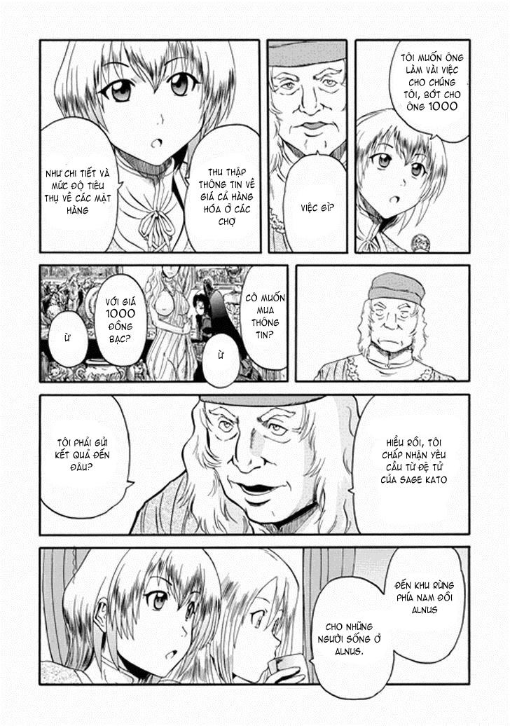 Gate – Jietai Kare no Chi nite, Kaku Tatakeri chap 13 Trang 12 - Mangak.info
