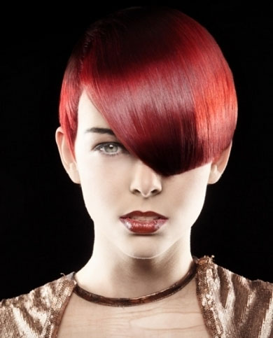Burgundy Hair Color 2014