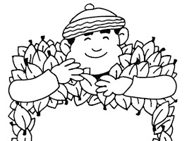Welcome Autumn Coloring Page