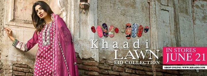 Khaadi Eid Dresses 2014