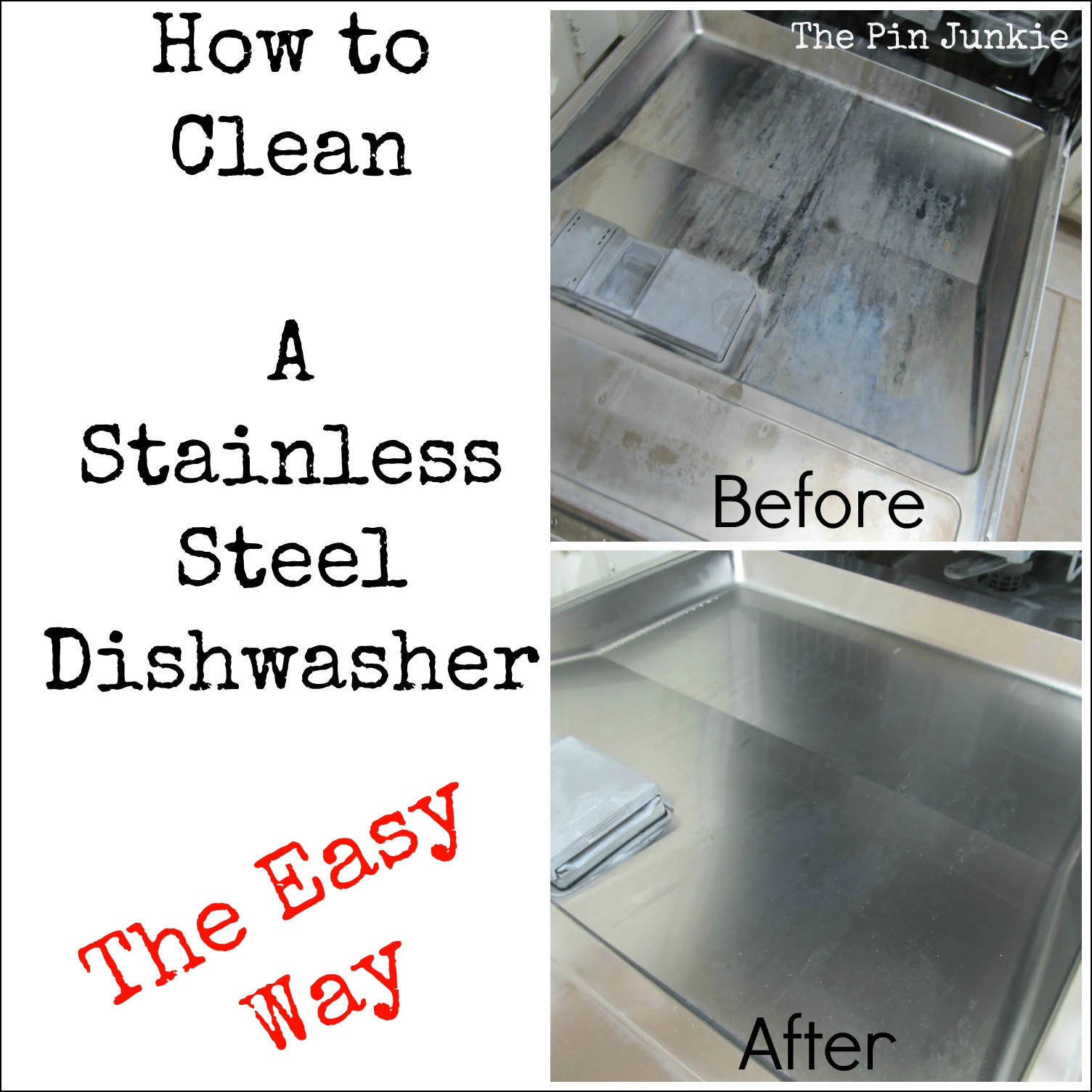 how to clean a stainless steel dishwasher. Black Bedroom Furniture Sets. Home Design Ideas