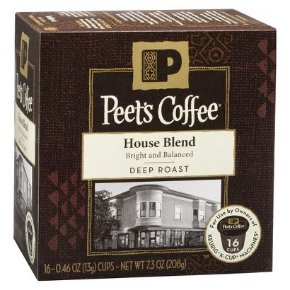 Peet's House Blend K-Cup Packs