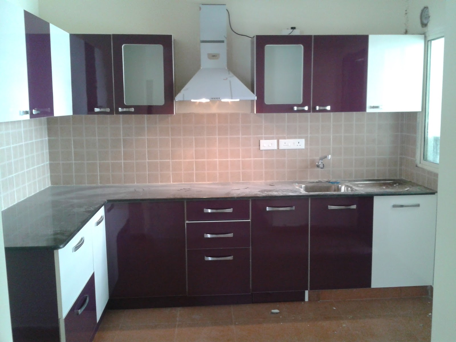 Pu Paint Modular Kitchen At Lowest Price Ever