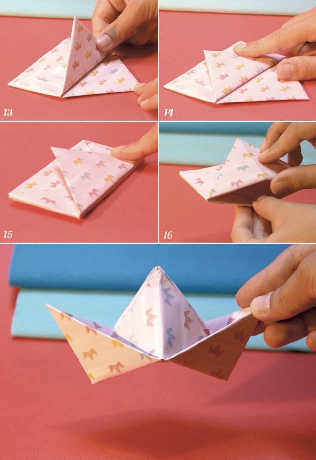 DIY Chapéu de Papel