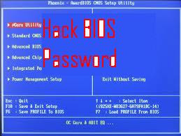 bypassing bios password