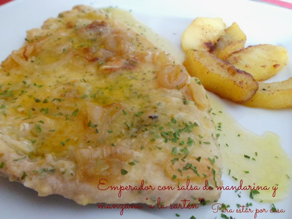 8 recetas de pescado con dulce cocinar en casa es for Cocinar emperador