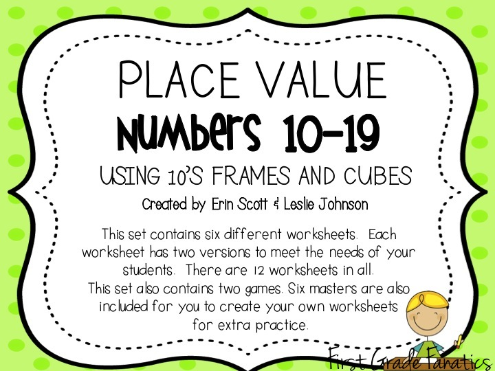 First Grade Fanatics: Planning For Place Value