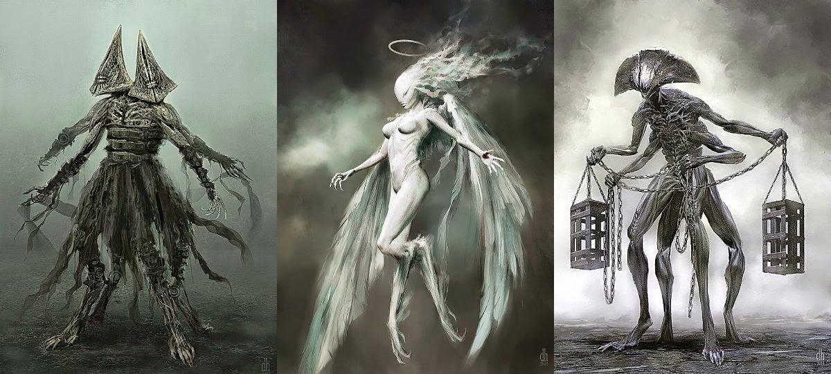 símbolos-zodíaco-em-forma-de-monstros