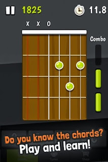 Screenshots of the Guitar Tuner Free - GuitarTuna for Android tablet, mobile phone.