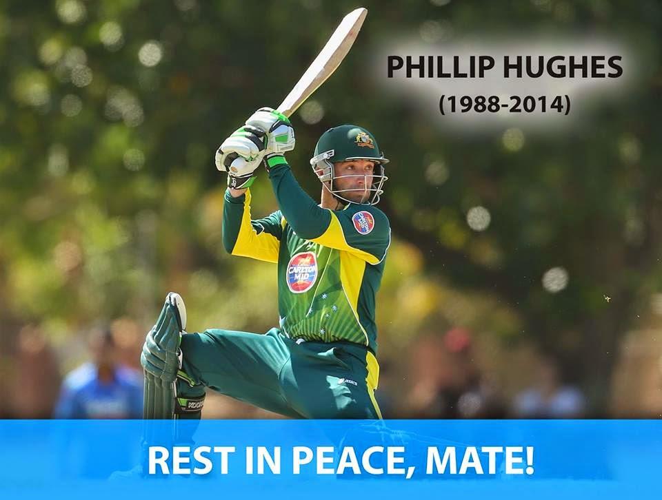 Australian cricket star Phil Hughes passed
