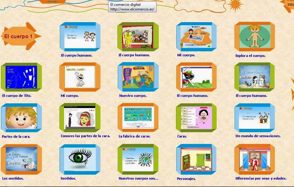 http://www.educanave.com/infantil/alumnos_archivos/juegosparaaprenderelcuerpohumano.htm