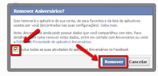 Passo 6 para remover definitivamente vírus do Facebook: remover aplicativo