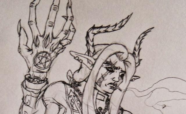 DevilSaint, Adrian Kadmon, Demonus, Unholy Paladin Studios