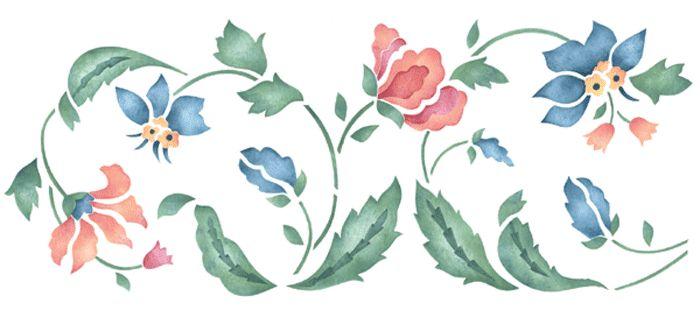 Grecas decorativas de flores - Imagui