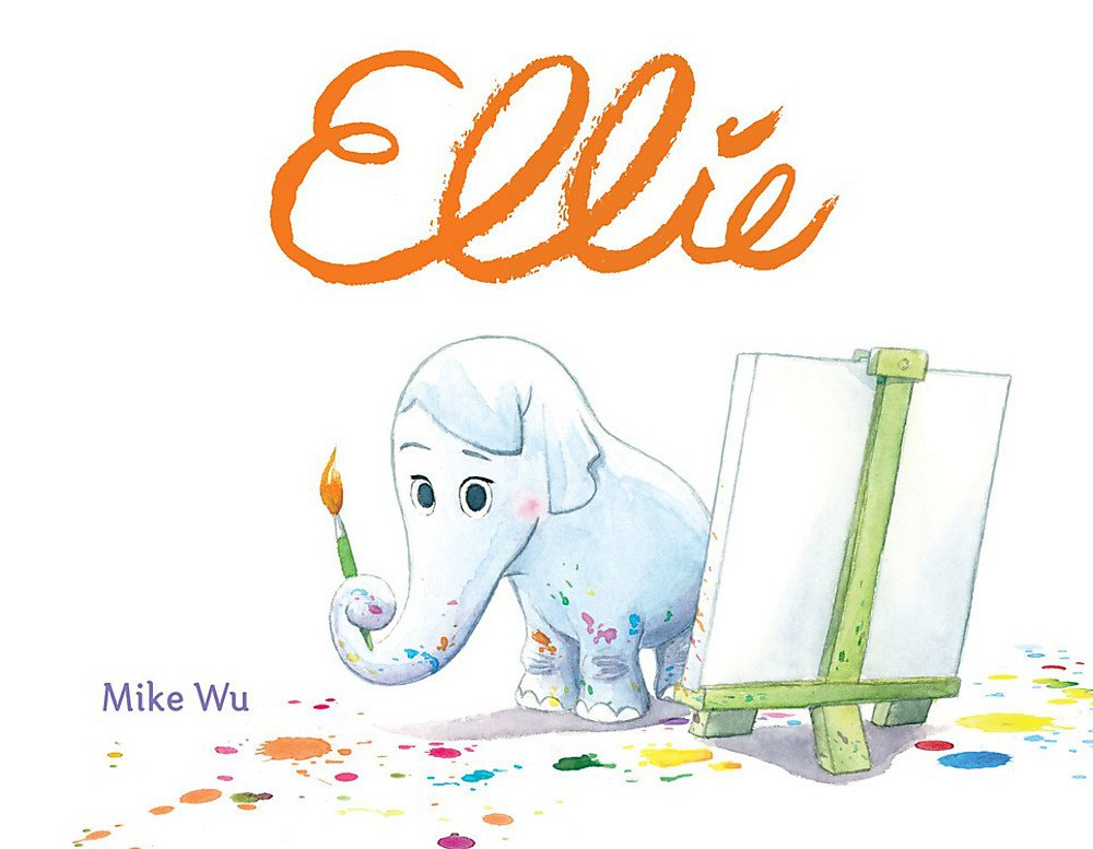 自我認同繪本:美國華裔迪士尼皮克斯動畫師Mike Wu首度繪本創作《小象艾莉》(大好書屋2019.1.31)
