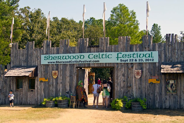 Sherwood Forest Celtic Festival 2012. McDade, Texas.
