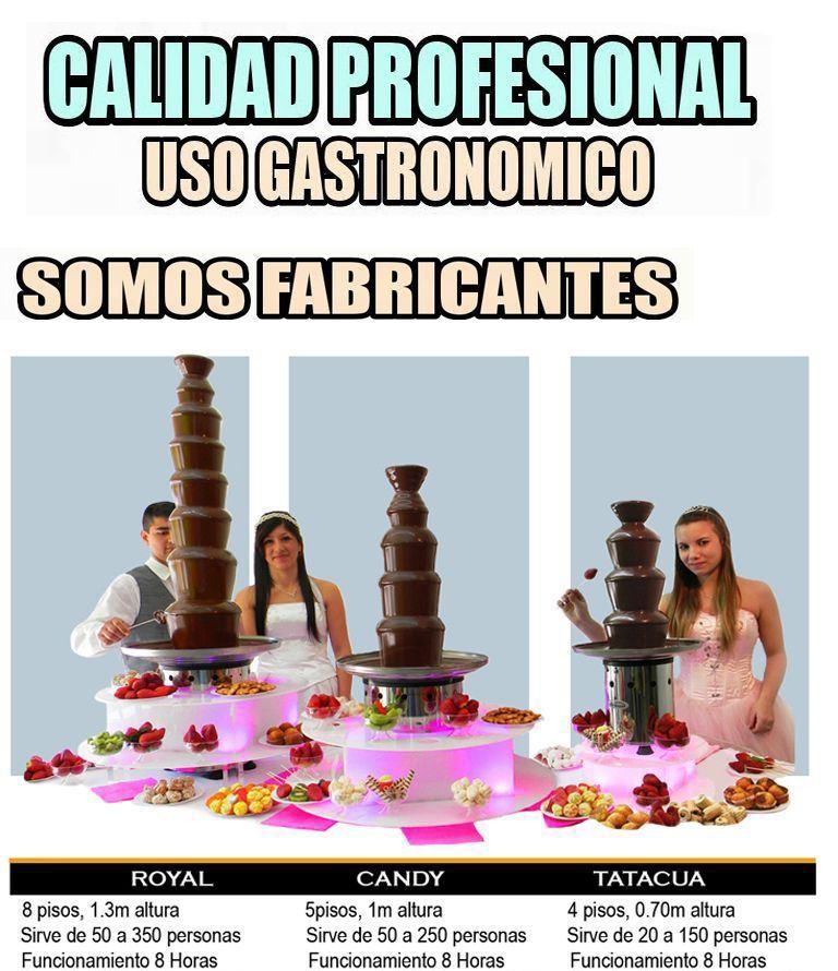 bases luminosa para cascadas de chocolate