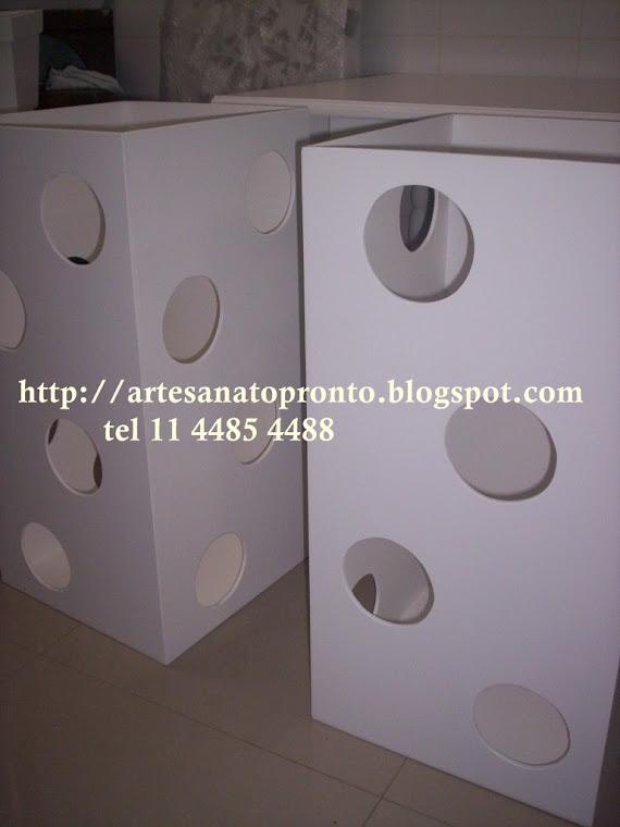 cubos para base de mesa clean R$150,00 cada medidas 40x40x80A