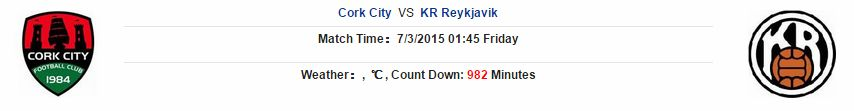 Cork City vs KR Reykjavik link vào 12bet