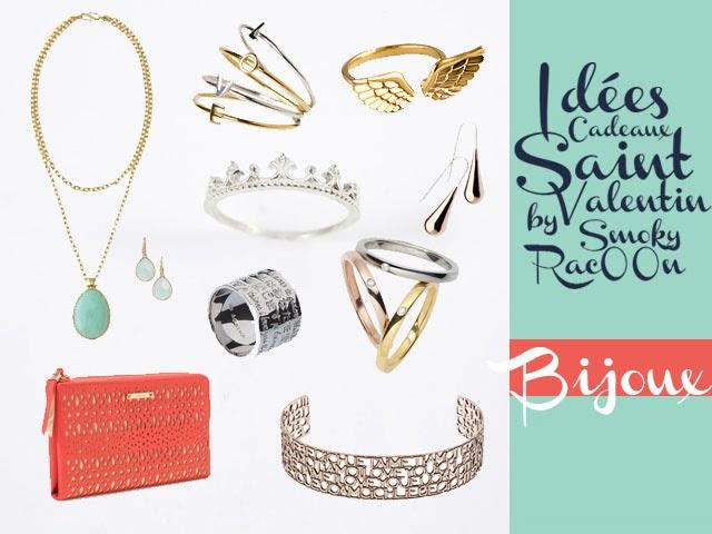 idées de cadeau saint valentin - bijoux abordables