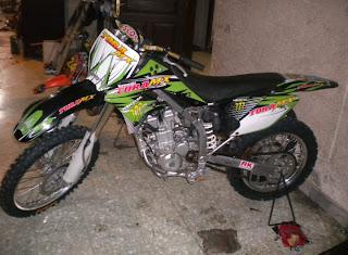 Kawasaki Klx  Supermoto Modification