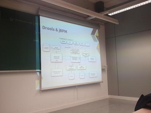 Componentes de jBPM y Drools