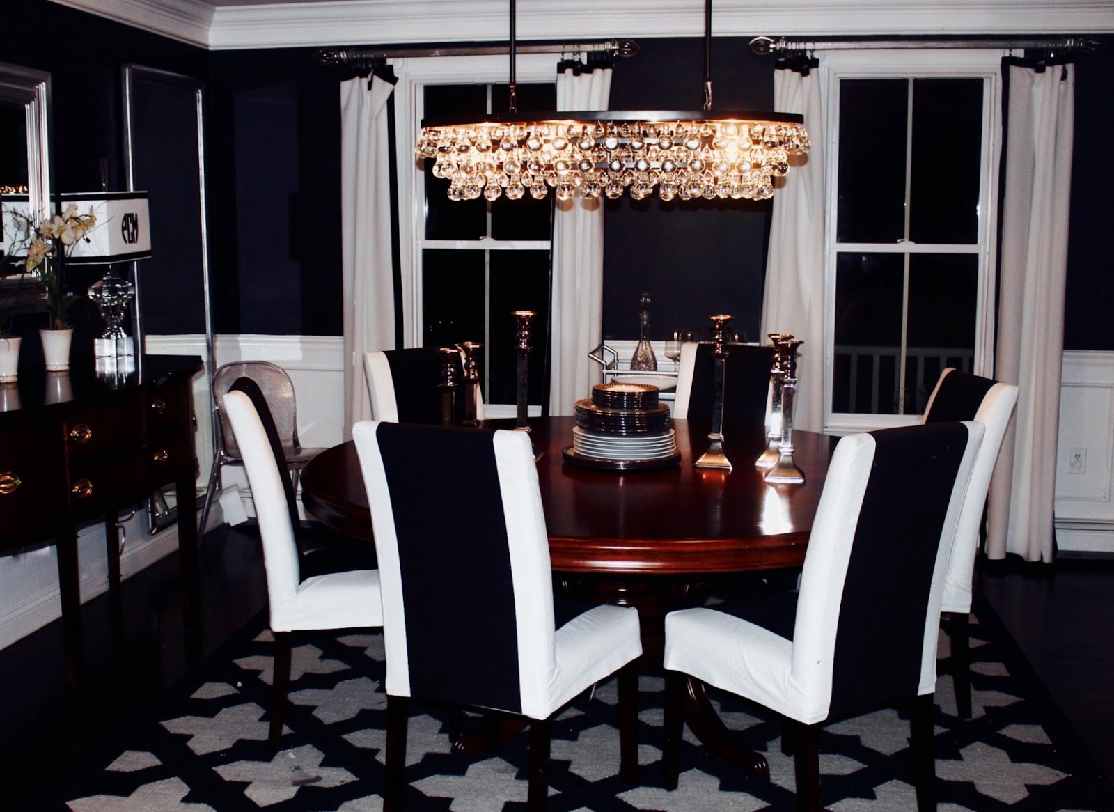 Dining room chandelier review robert abbey lots of beautiful rooms