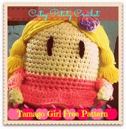 Tamago Girl Free Pattern