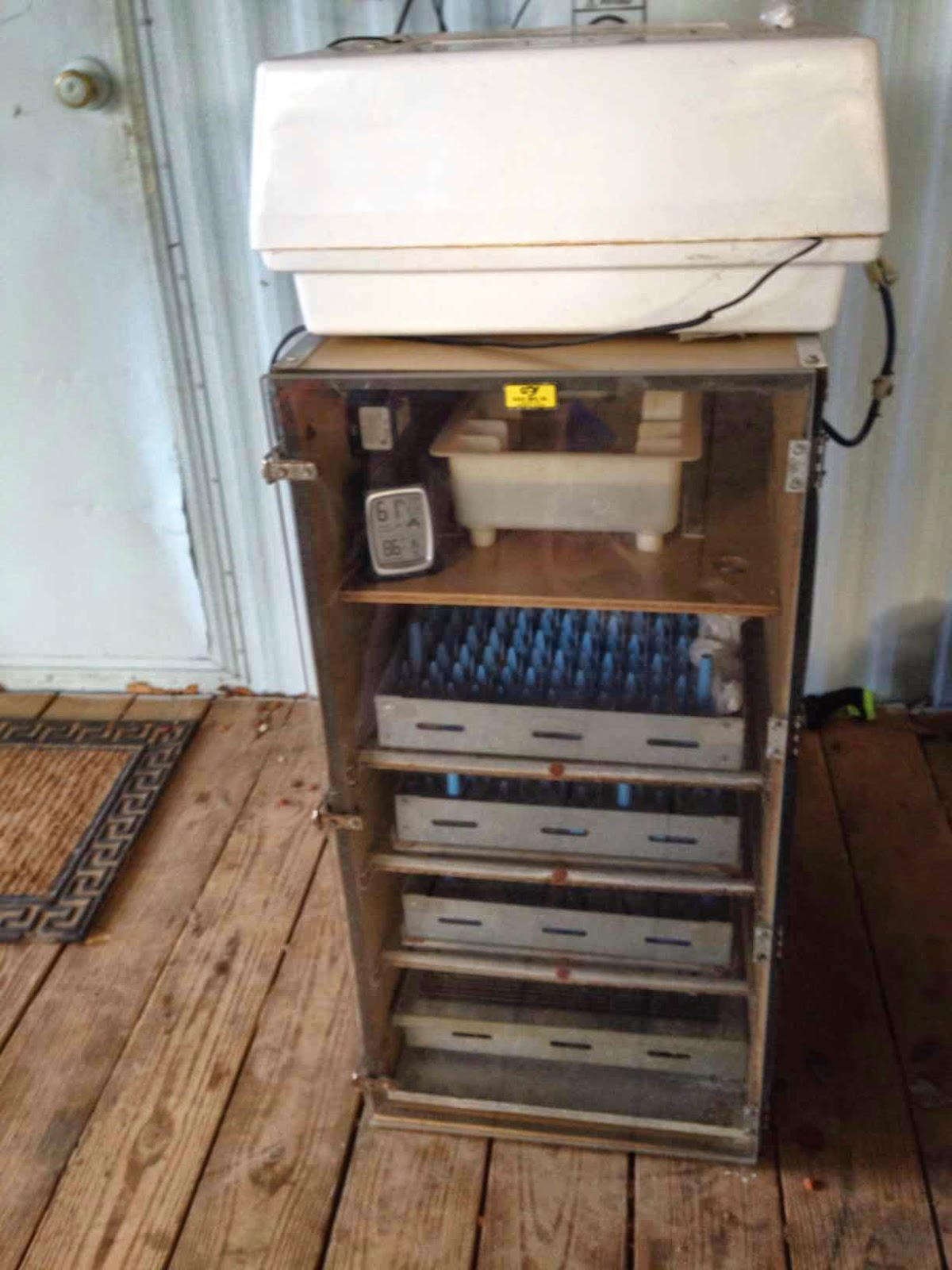 Life on The Blue Goat Homestead: GQF Cabinet Incubator, Starting ...