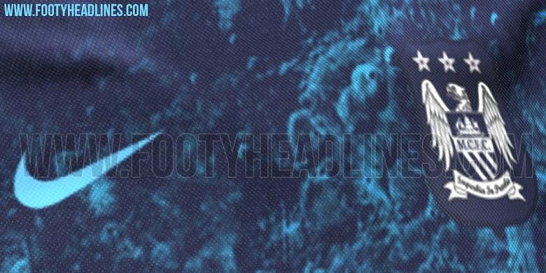 Nueva camiseta suplente Nike del Manchester City
