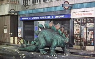 stegosaurus in London