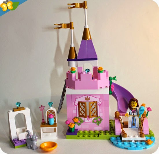 Boîte de construction du château de la princesse - LEGO Juniors® (easy to build) n°10668