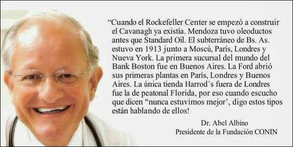 Un prócer en vida Dr. Abel Albino