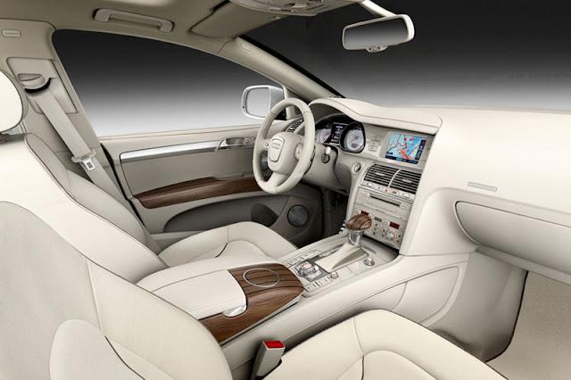 2012 Audi Q7 Suv Front Interior