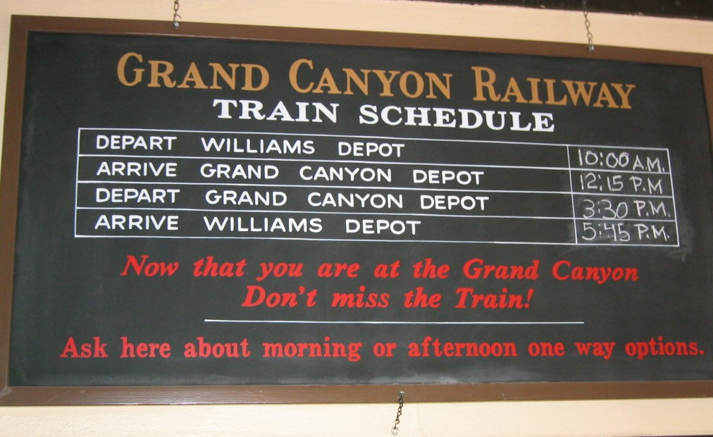 Barnstorming With Frank Barning Grand Canyon Railway Trip