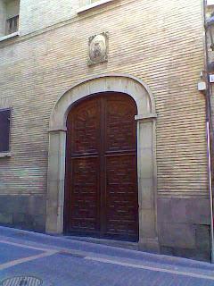 Iglesia de los Padres Escolapios en Barbastro (Somontano, Huesca, Aragón, España)