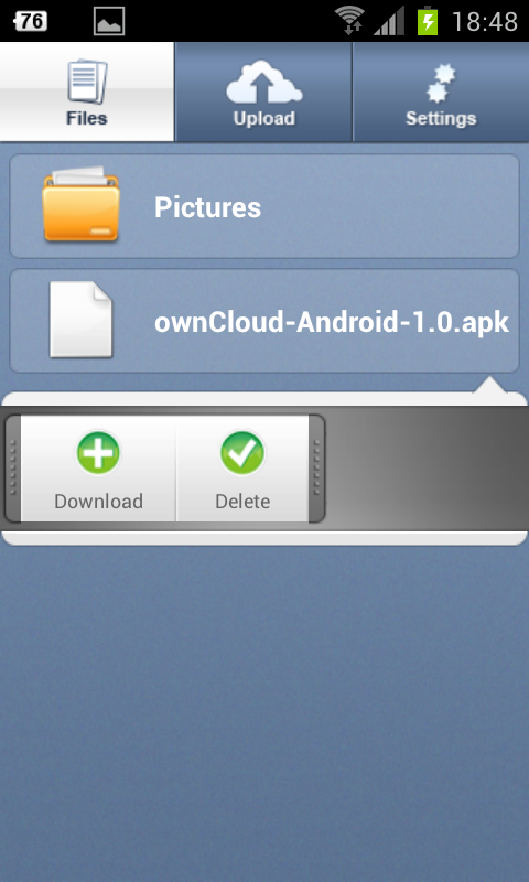 Owncloud android app download ipad
