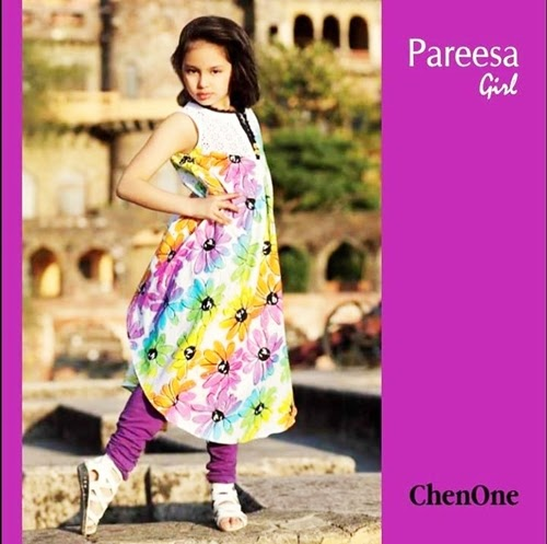Pareesa Lawn For Girls