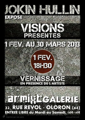 Exposition VISIONS PRESENTES Jokin Hullin