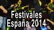 Mejores festivales rock España 2014