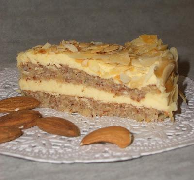 Миндальный торт фото рецепт икеа
