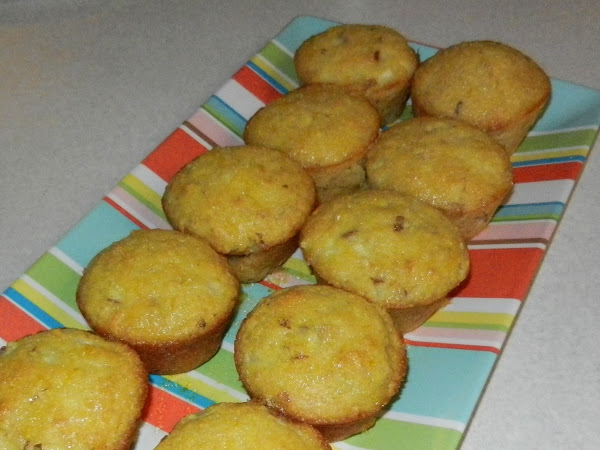 Diva In The Kitchen: Ginger-Pear Muffins with Lemon Glaze