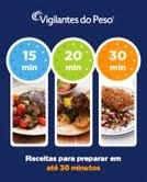 Vigilantes do Peso lança livro de receitas rápidas