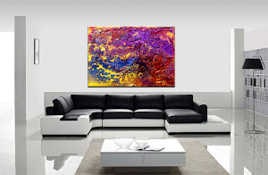 "Abstract Painting ""Precious Elements"" by Dora Woodrum"