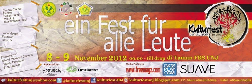 Kulturfest UNJ 2012