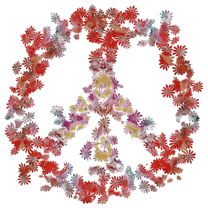 Flower Peace Mandala