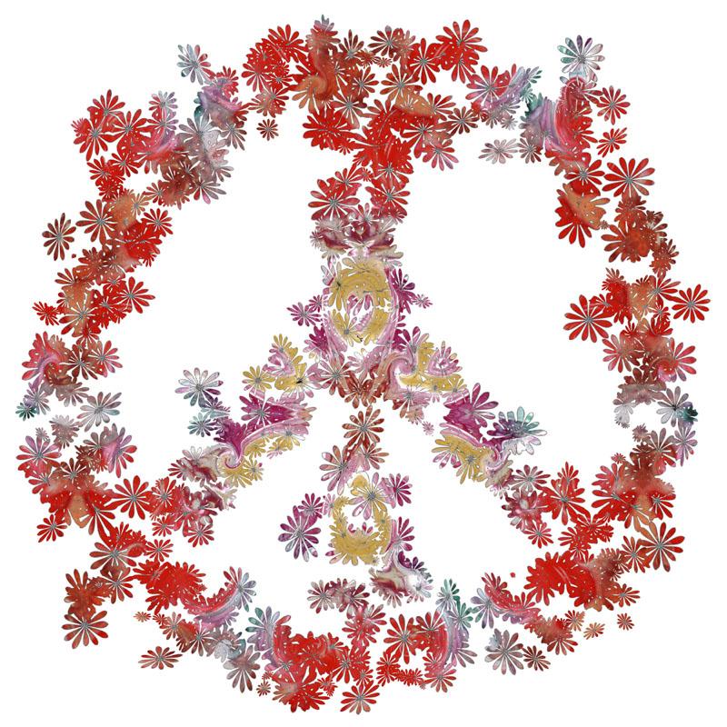 Flower Peace Mandala