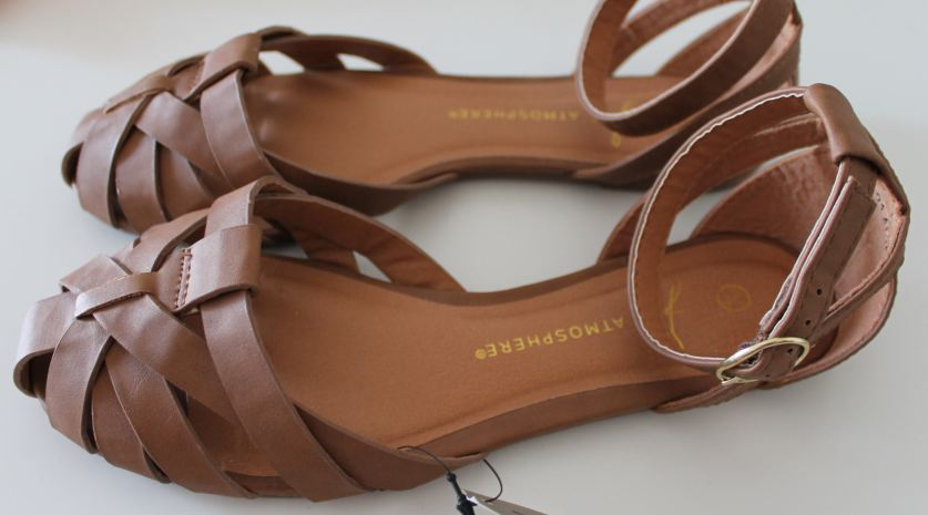 sandali marroni primark