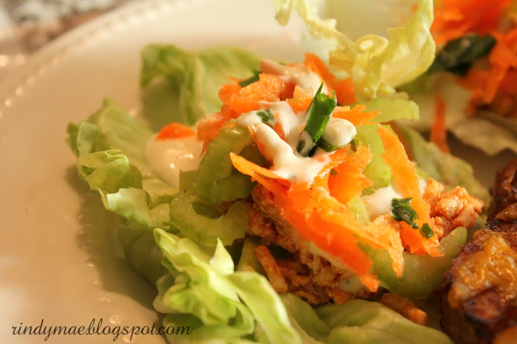 Rindy Mae: Buffalo-Style Turkey Lettuce Wraps & Chili ...