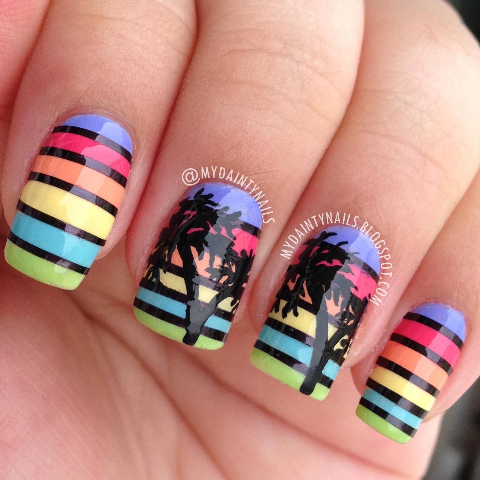 My Dainty Nails: Palm Trees
